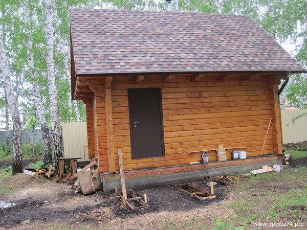 Дом и баня на оз. Кумкуль - фото 1